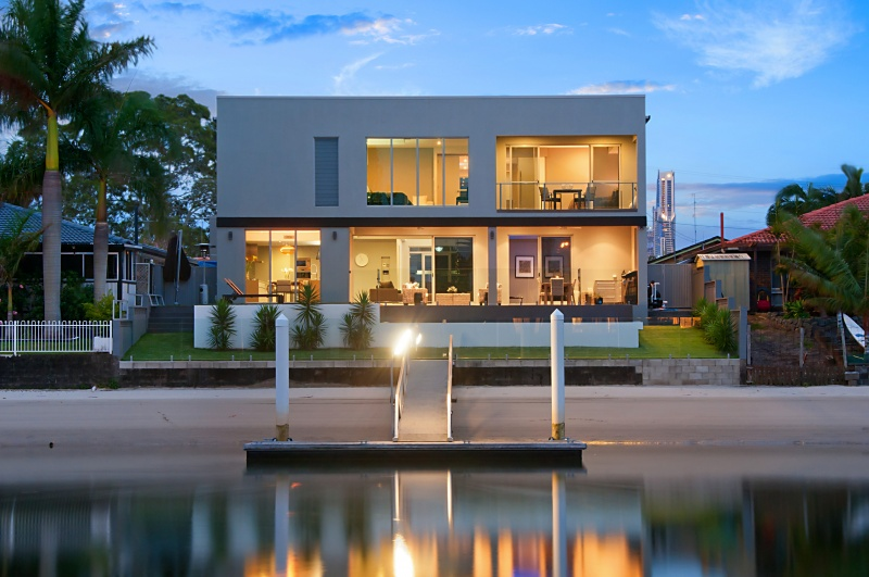 Situated on beautiful Gold Coast waters