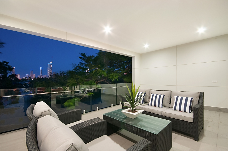 Broadbeach accommodation elite holiday homes hidden for Balcony upstairs