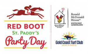 Red Boot Race Day Elite Holiday Homes logo