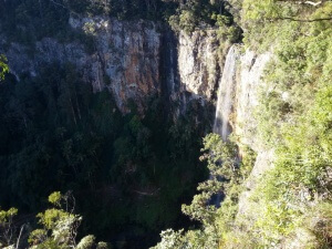 The Stunning Purling Brook Falls in Springbrook National park