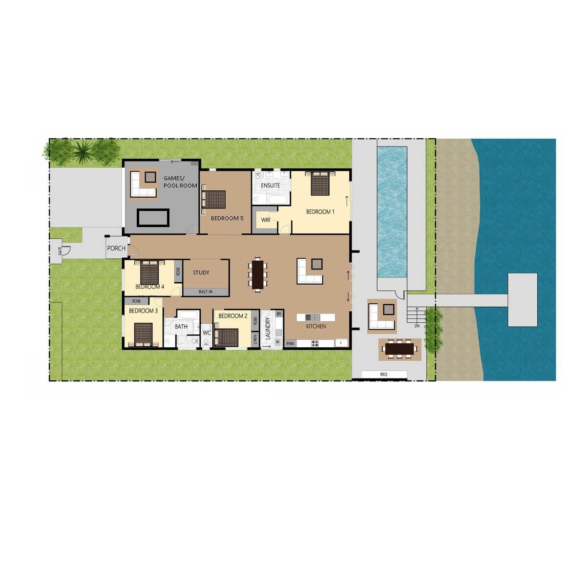 Tranquil Floorplan