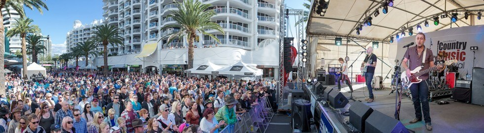 Broadbeach country music festival accommodation