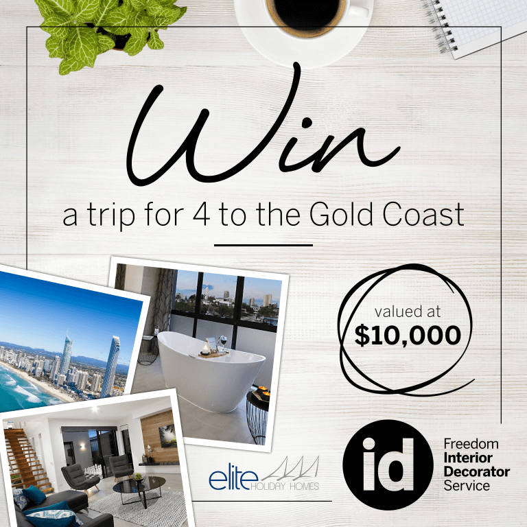 Win With Freedom Furniture Nz Luxury Gold Coast Holiday Homes