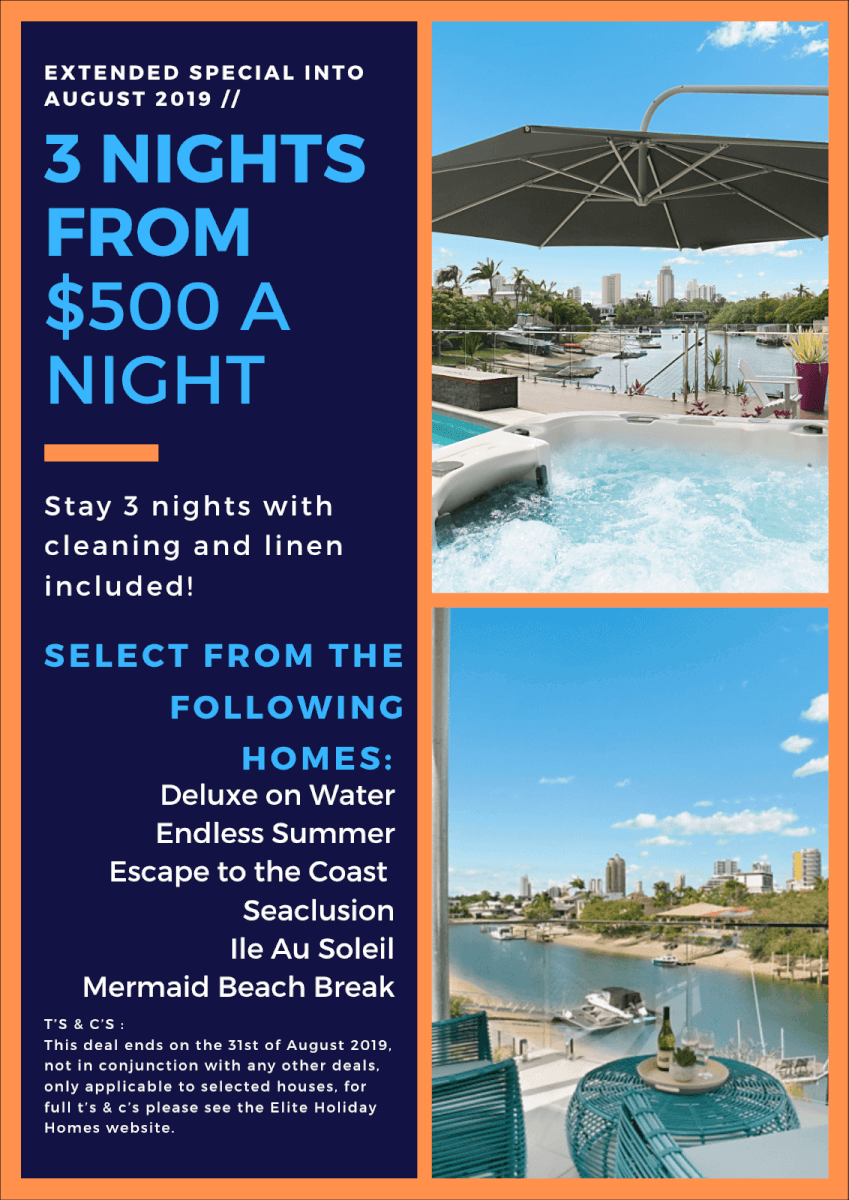 Special Deals on Gold Coast Accommodation